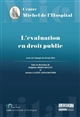 L'EVALUATION EN DROIT PUBLIC
